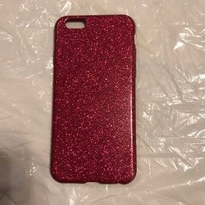 Pink Glitter iPhone 6/7s case